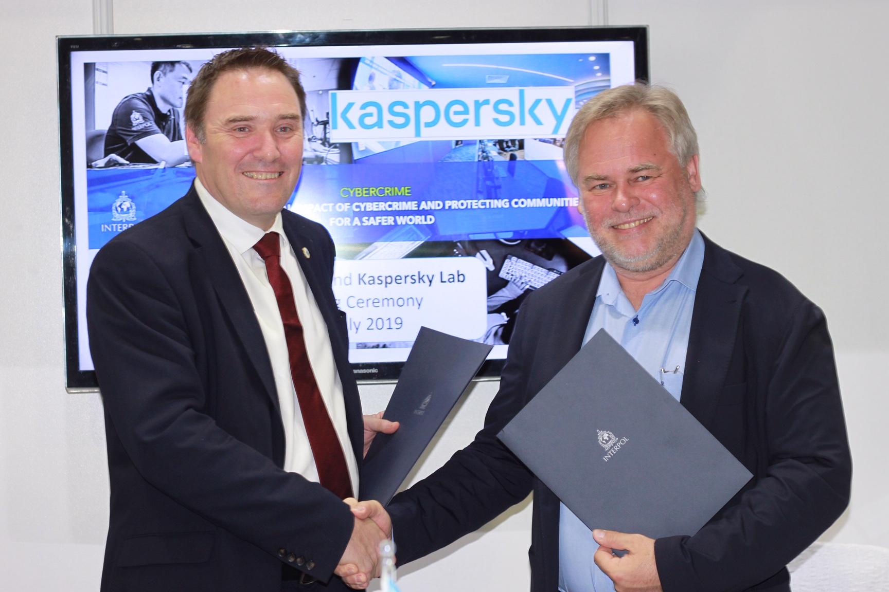 Kaspersky in Interpol